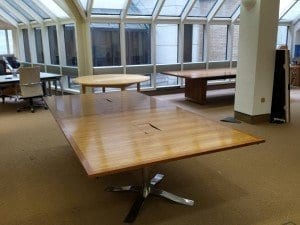 Rectangular Reception Table