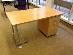 3 Drawer Workstation Desk